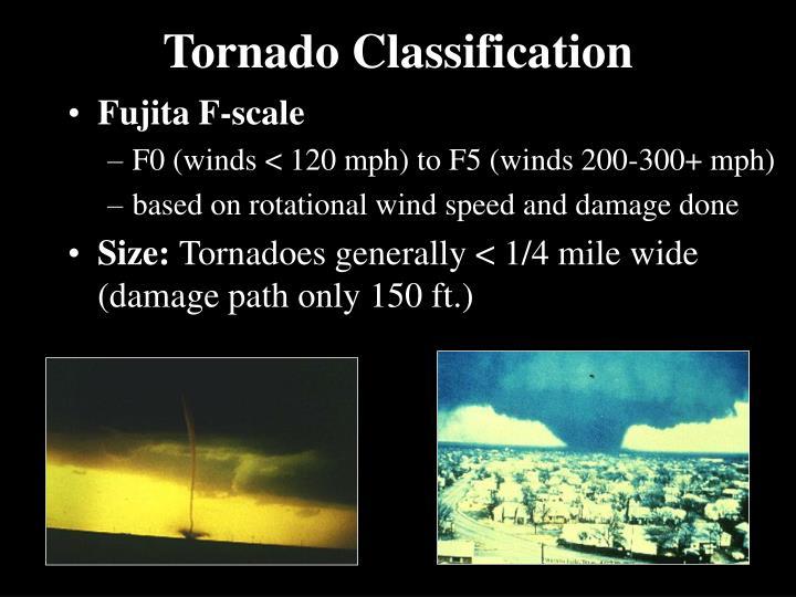 Tornado Classification