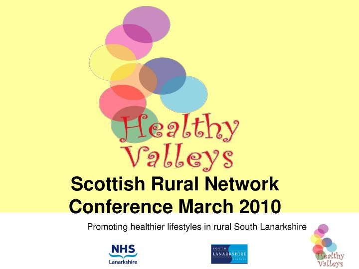 scottish rural network conference march 2010