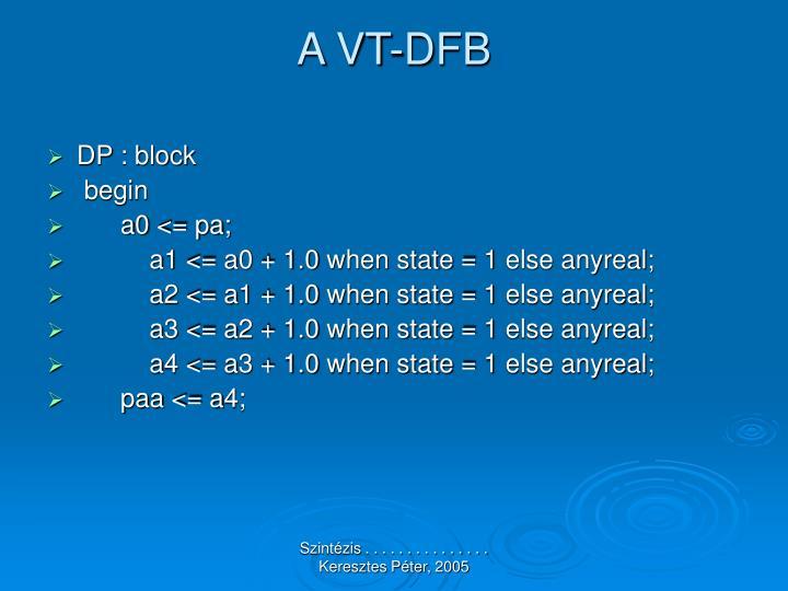 A VT-DFB