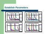 establish parameters4