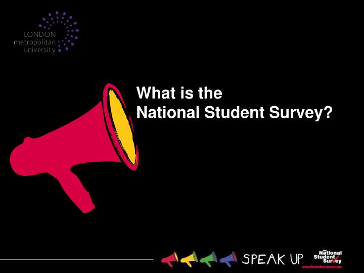 What is the national student survey