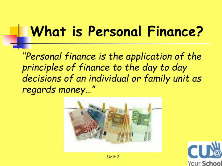 personal finance college unit Annamaria lusardi argues that financial literacy is essential for people to survive and thrive in today's world lauren willis says courses miss the real issues people face supporters of the idea say financial literacy is crucial in today's world.