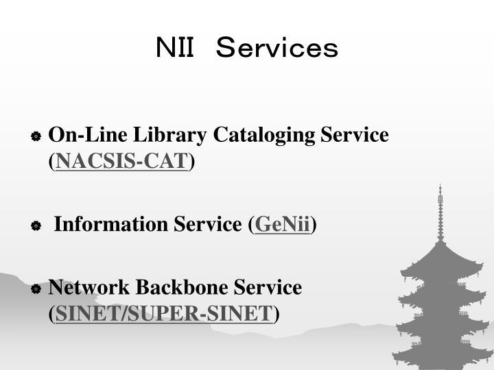 NII Services