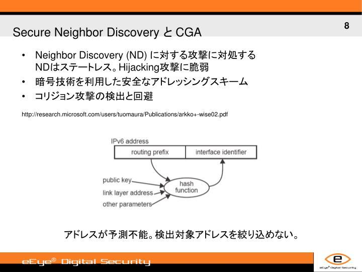 Neighbor Discovery (ND)