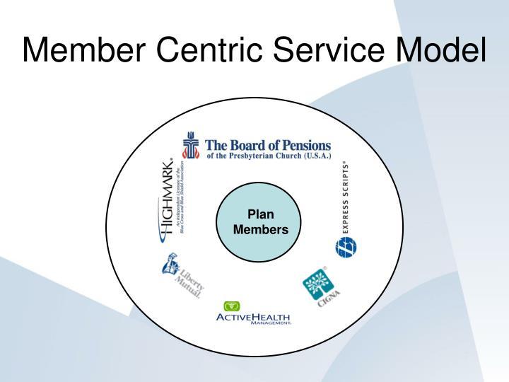 Member Centric Service Model