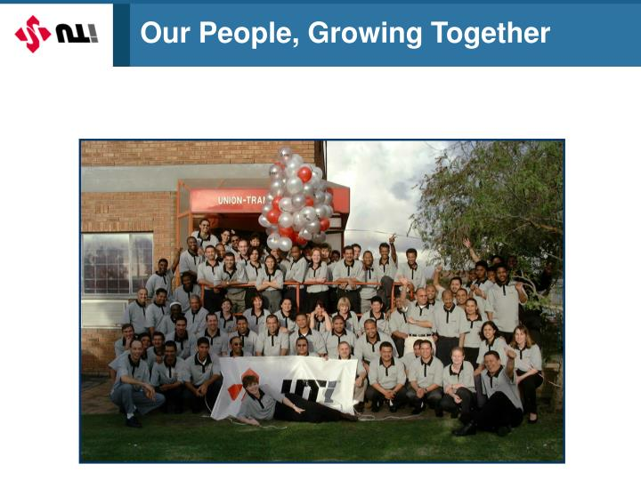 Our People, Growing Together