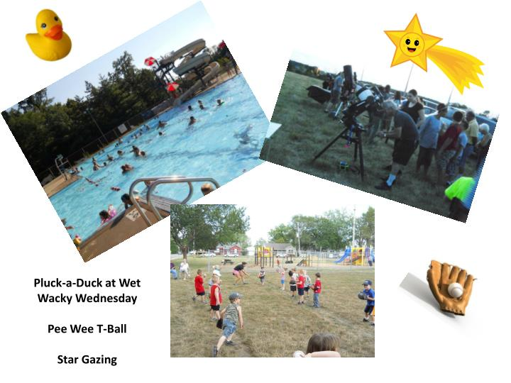 Pluck-a-Duck at Wet Wacky Wednesday