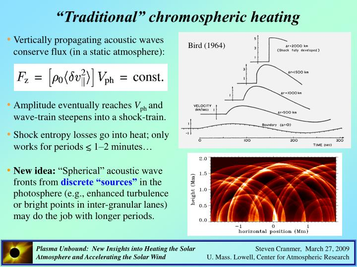 """Traditional"" chromospheric heating"