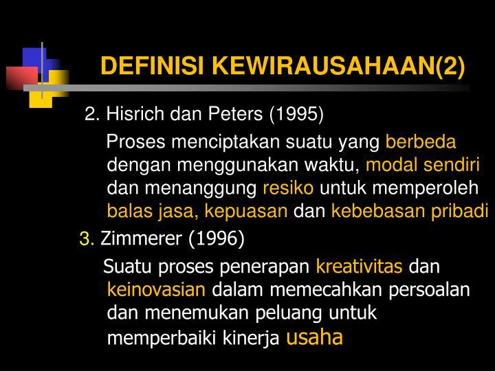 DEFINISI KEWIRAUSAHAAN(2)