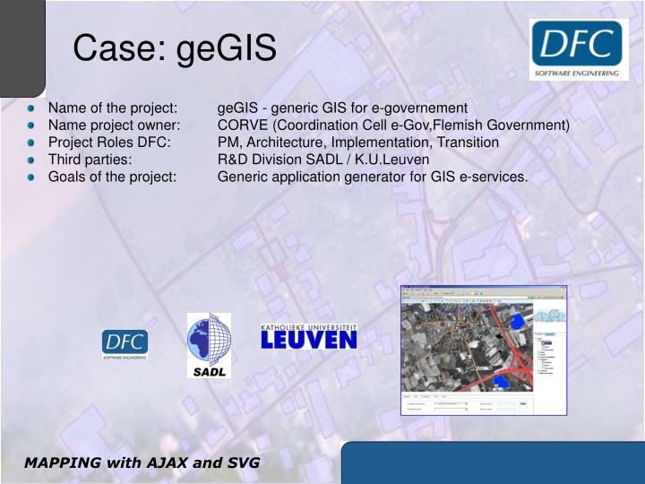 Case: geGIS