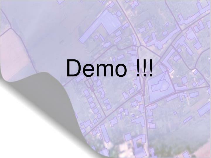 Demo !!!