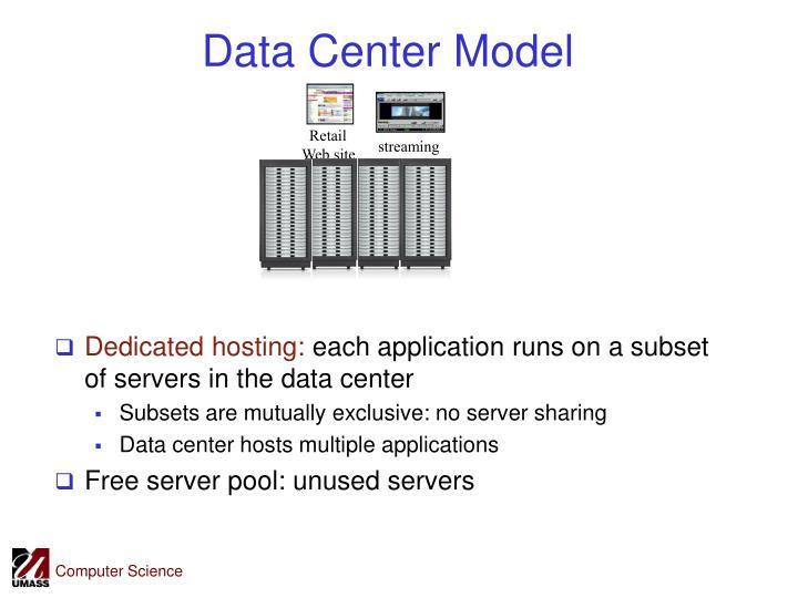 Data Center Model