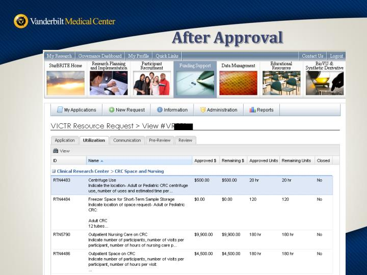 After Approval