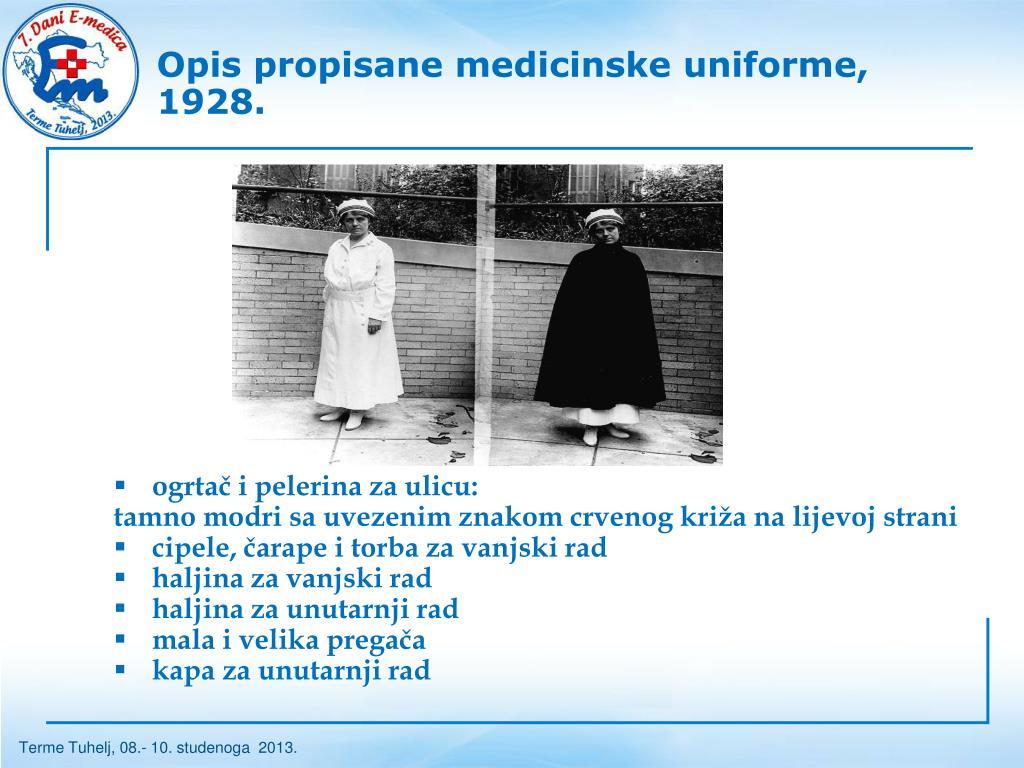 Medicinska kapa za upoznavanje