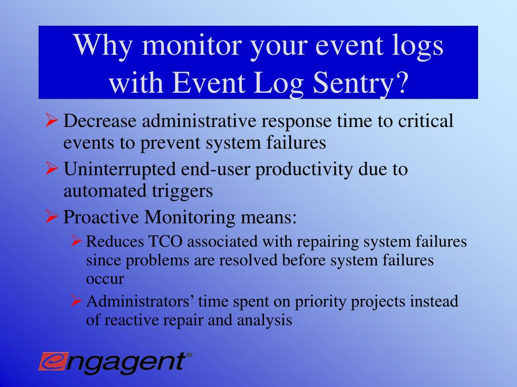 PPT - Complete Event Log Viewing, Monitoring and Management