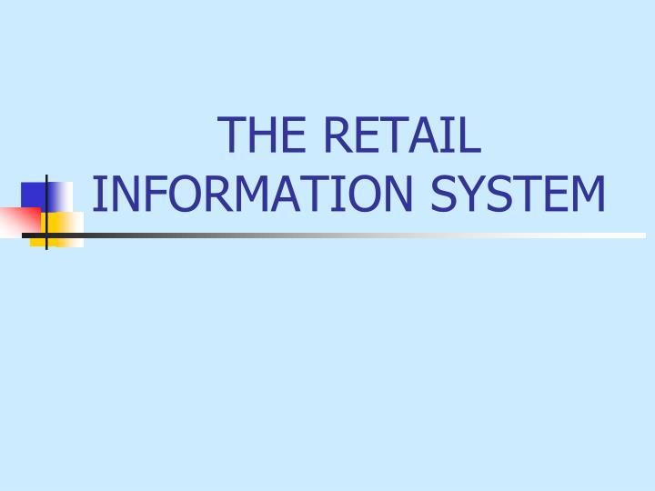 the retail information system n.