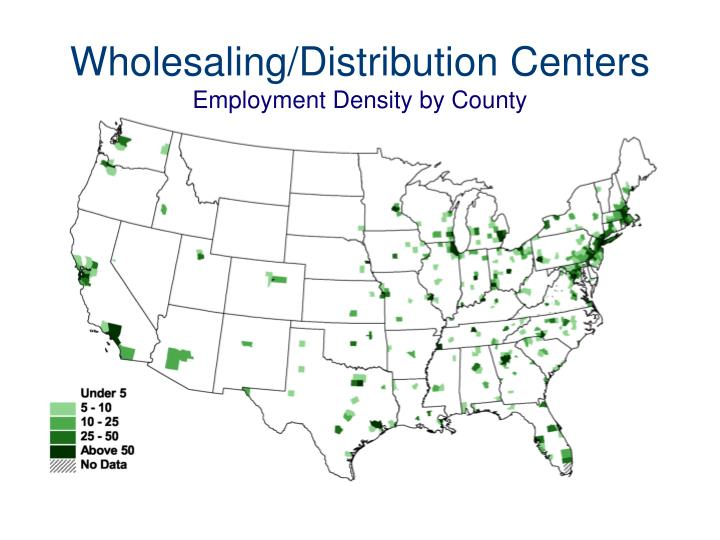 Wholesaling/Distribution Centers