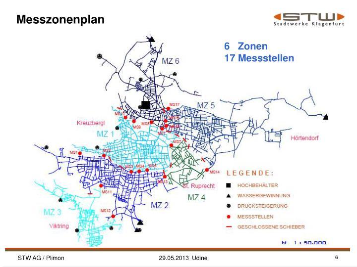 Messzonenplan