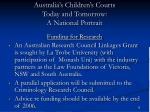 australia s children s courts today and tomorrow a national portrait11
