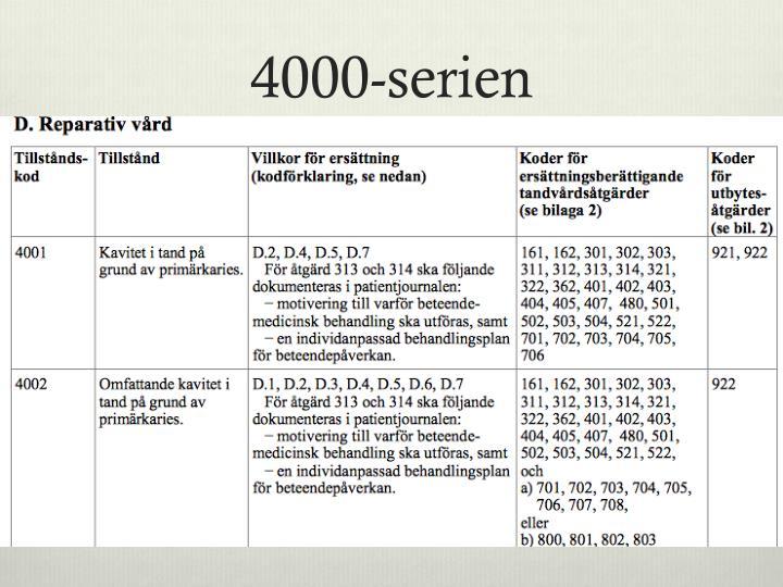 4000-serien