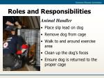 roles and responsibilities12
