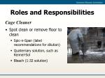 roles and responsibilities14