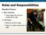 roles and responsibilities18