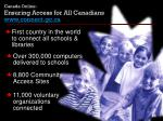 canada online ensuring access for all canadians www connect gc ca
