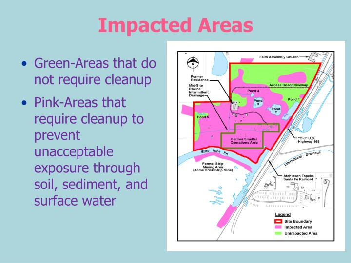 Impacted Areas