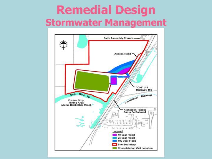 Remedial Design
