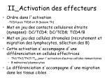 ii activation des effecteurs1