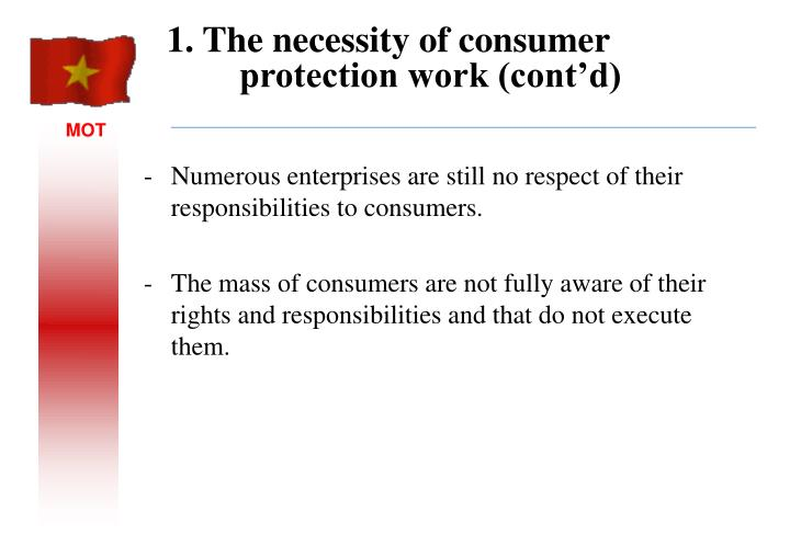 Numerous enterprises are still no respect of their responsibilities to consumers.
