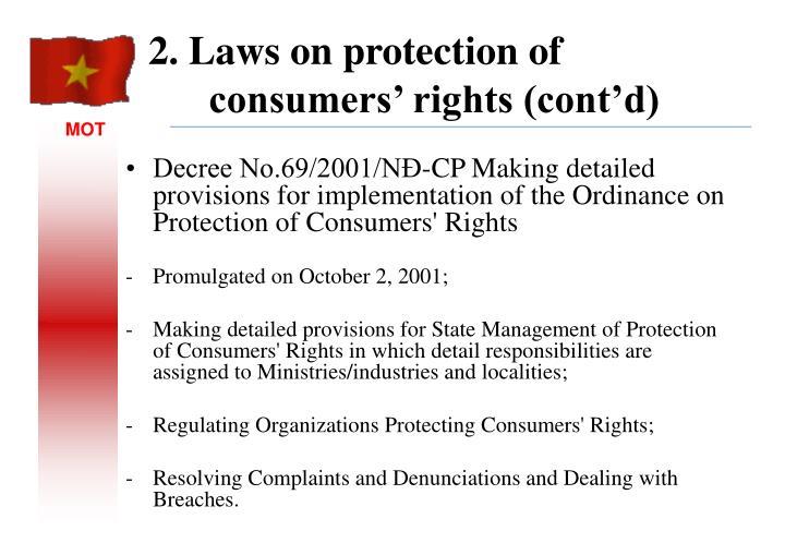 Decree No.69/2001/NĐ-CP