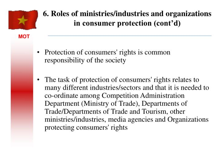 Protection of consumers' rights