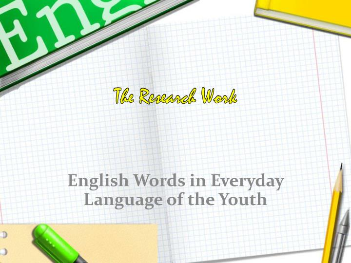 language very important part of everyday life english language essay Get access to importance of english language essays only from anti essays of english english language can easily be considered as the most important language in the world more than 15 billion people speak this language everyday thats part of making the english language your language.