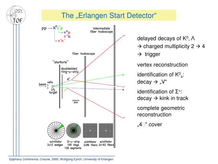 """The """"Erlangen Start Detector"""""""