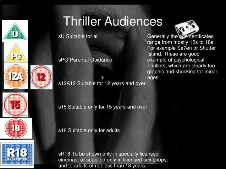 Thriller Audiences