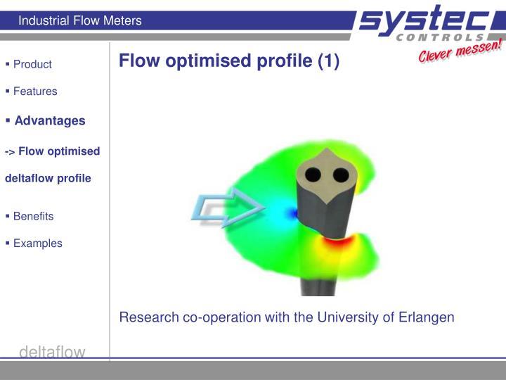 Flow optimised profile (1)