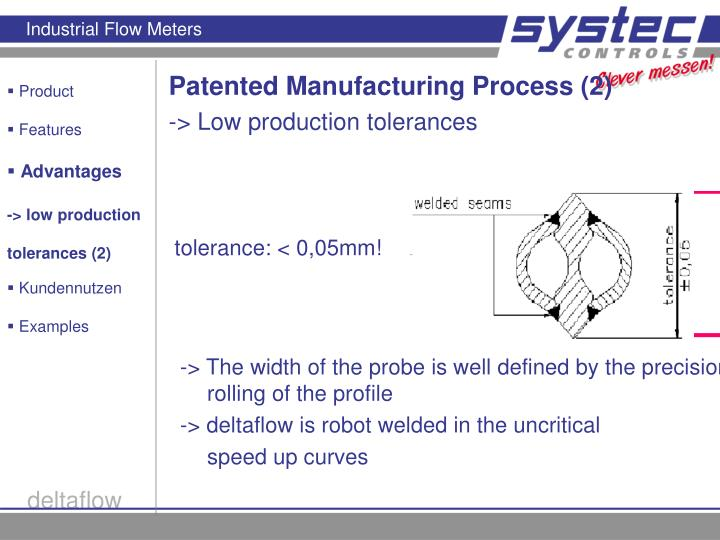 Patented Manufacturing Process (2)