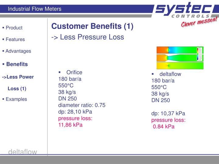 Customer Benefits (1)