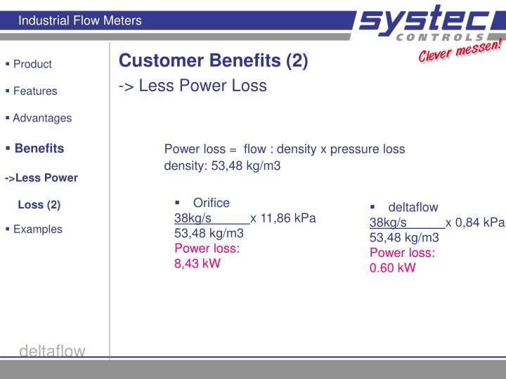 Customer Benefits (2)