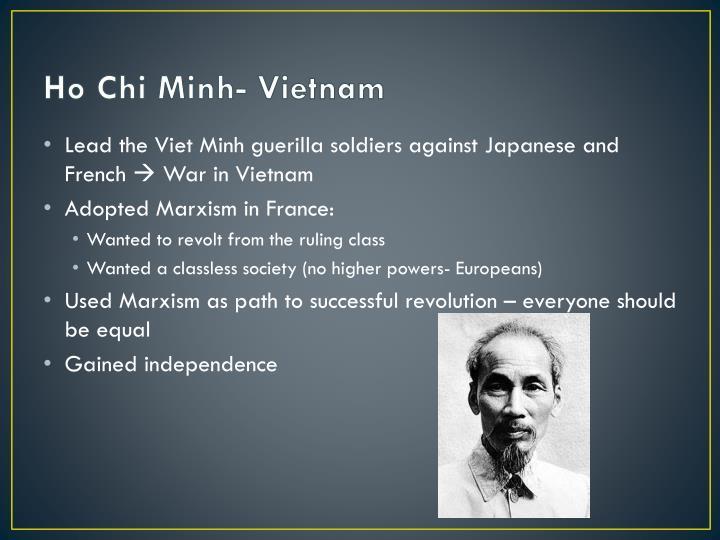 Ho Chi Minh- Vietnam