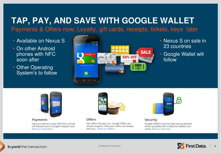 Tap, Pay, and Save with Google Wallet