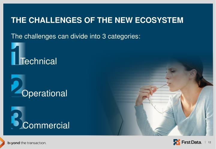 The Challenges of the New Ecosystem