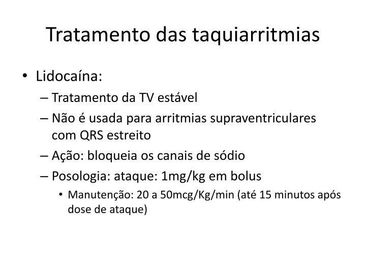 Tratamento das taquiarritmias
