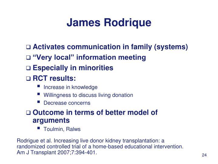 James Rodrique