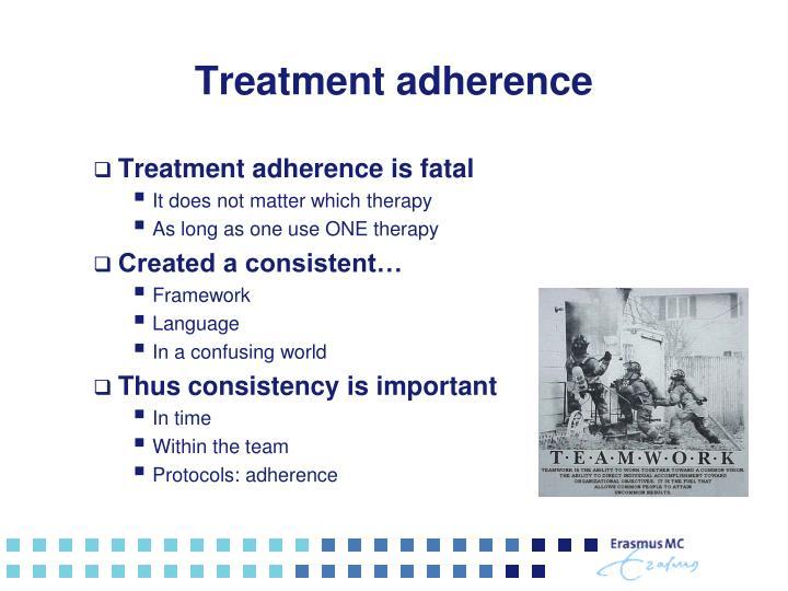 Treatment adherence
