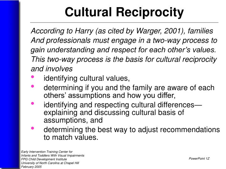 According to Harry (as cited by Warger, 2001), families