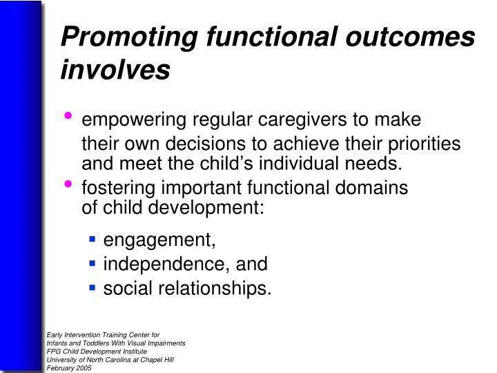 empowering regular caregivers to make