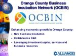 orange county business incubation network ocbin
